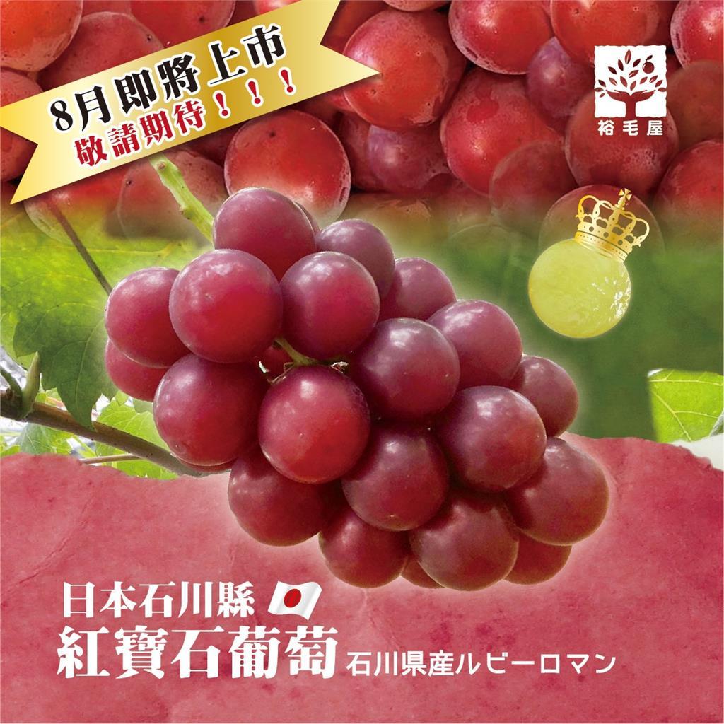 「葡萄界愛馬仕」1串要價35萬 限定8串台中貴婦超市爽快秒殺