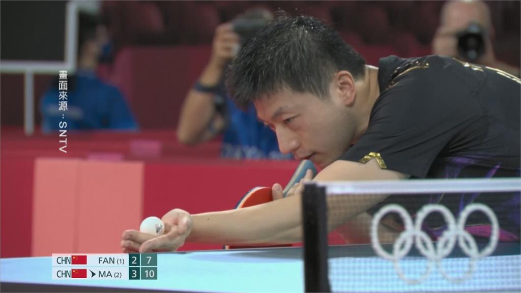 史上第一位! 馬龍奧運桌球男單二連霸 創紀錄