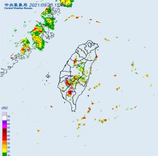 快新聞/全台6縣市大雷雨來襲! 持續至16時30分