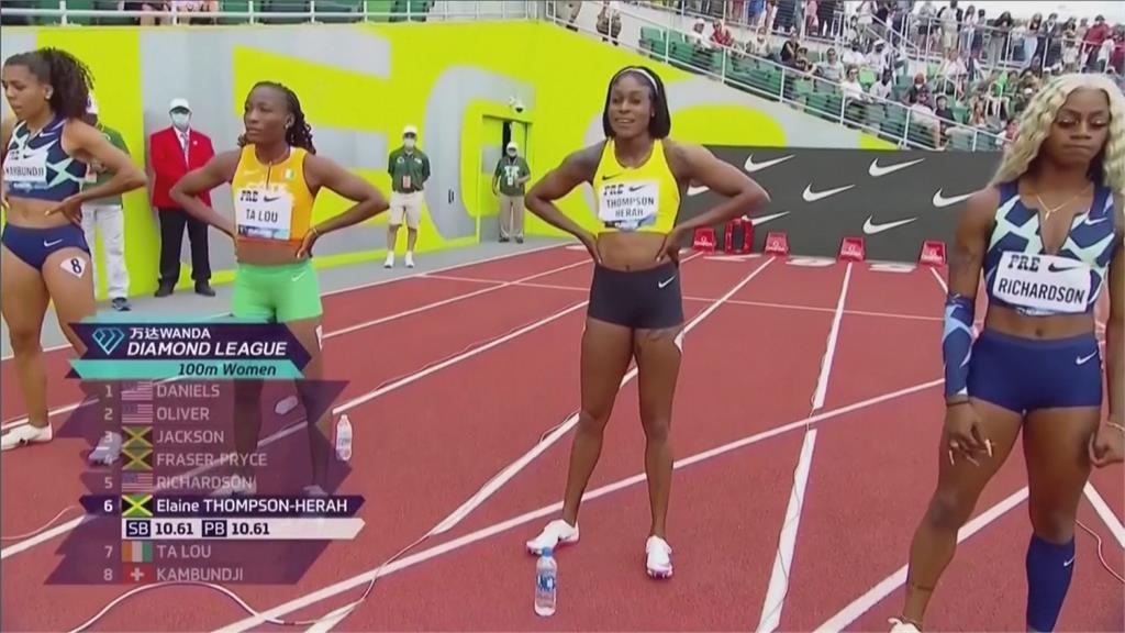 全球最速女! 東奧金牌湯普森10秒54史上第二快