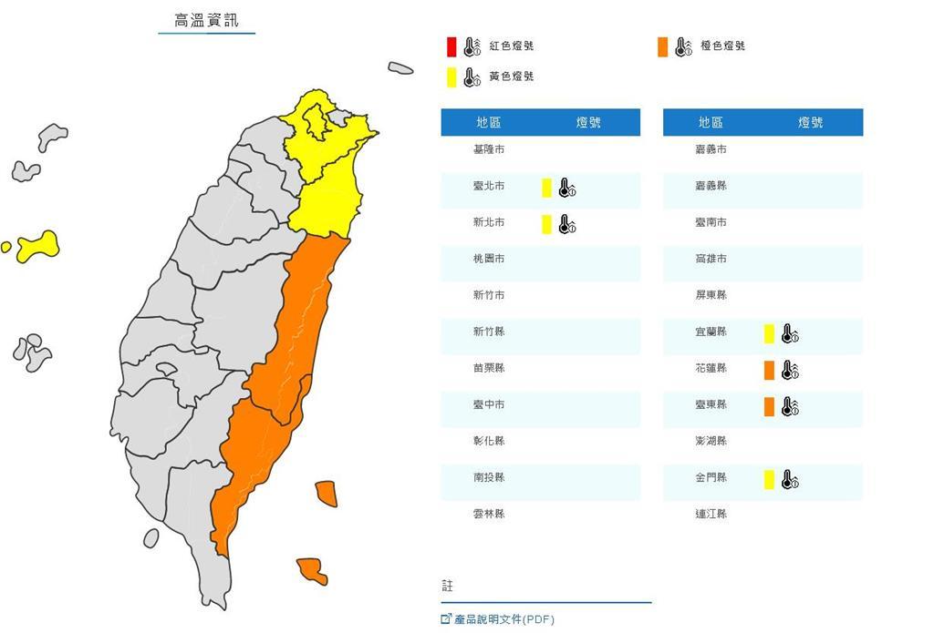 烟花離台危機未解除!東北部「38度高溫」林嘉愷:中南部大雨恐持續一週