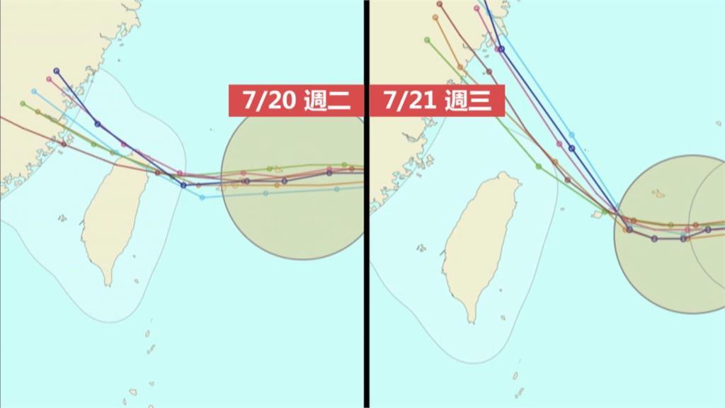 中颱烟花持續增強中 20:30發布海上警報!最快週四下半天陸警