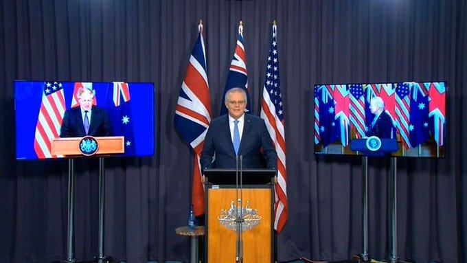 78歲拜登稱「這位紐澳哥們」突忘澳洲總理名!尷尬記者會影片網瘋傳