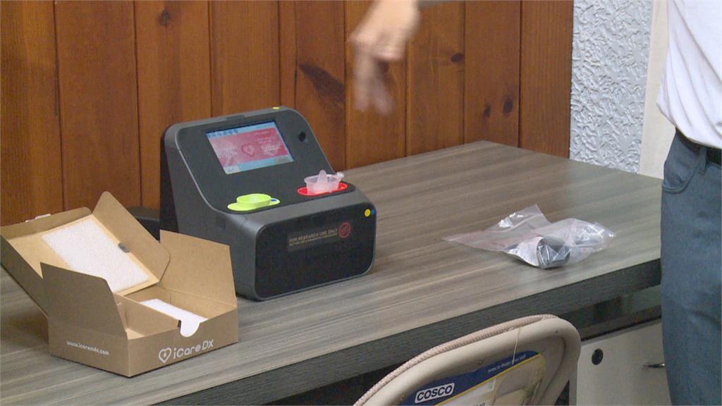 鴻海研發唾液快篩機 自家員工測試竟採陽!CDC:需再採檢確認