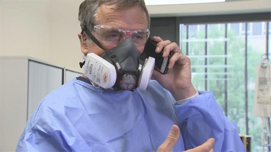 F1科技助醫護 打造喉嚨麥克風不脫防護衣溝通