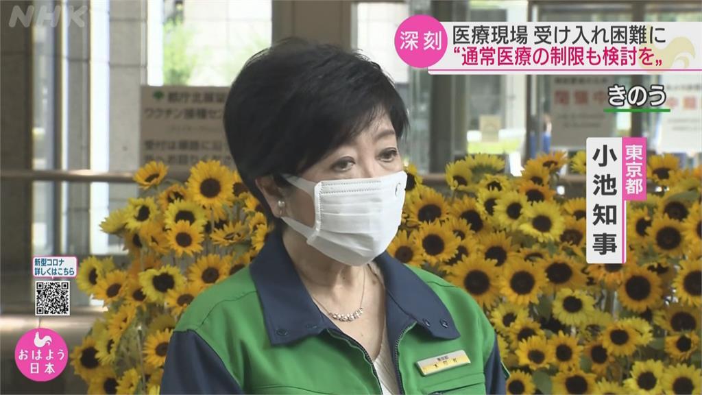 警急事態無效? 東京確診數屢創新高 週三首度突破3千例!