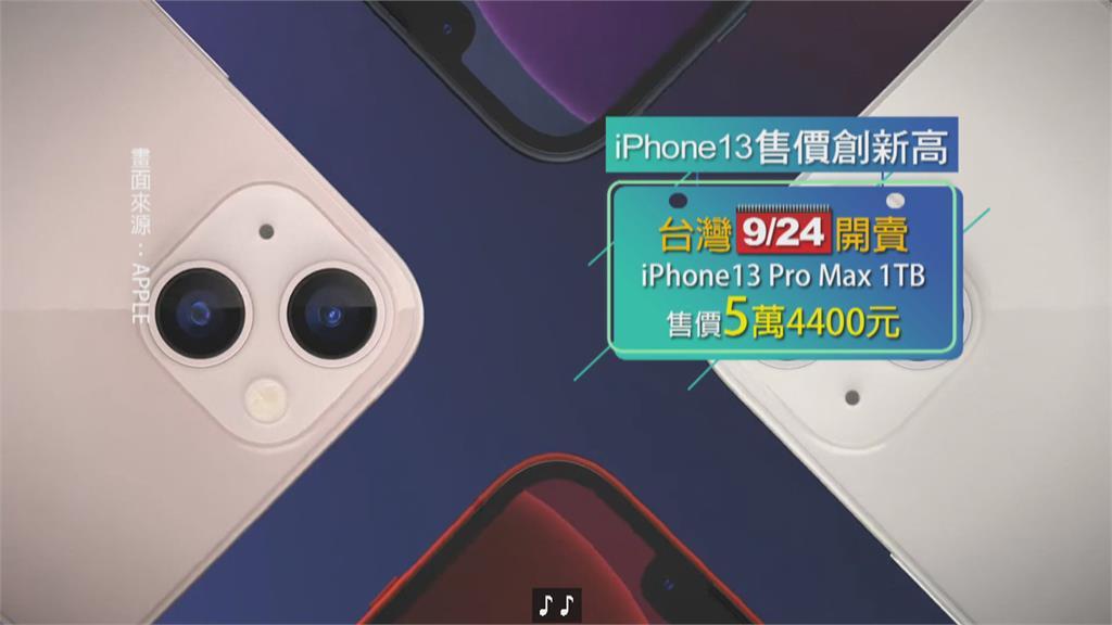 比台灣貴快3萬!iPhone13Pro Max在巴西賣台幣8萬2200