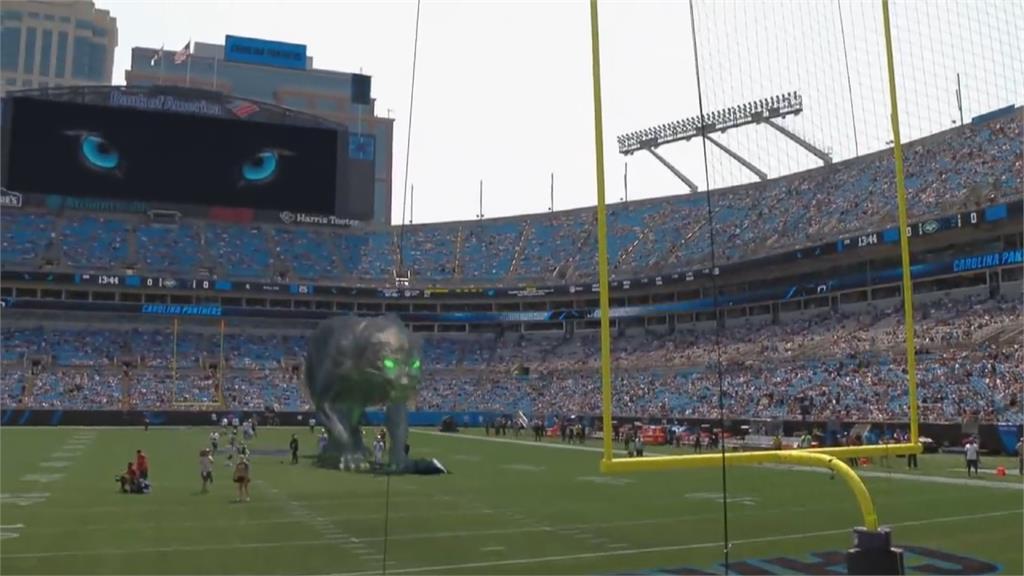 黑豹活過來了!美式足球超炫AR開場氣勢驚人