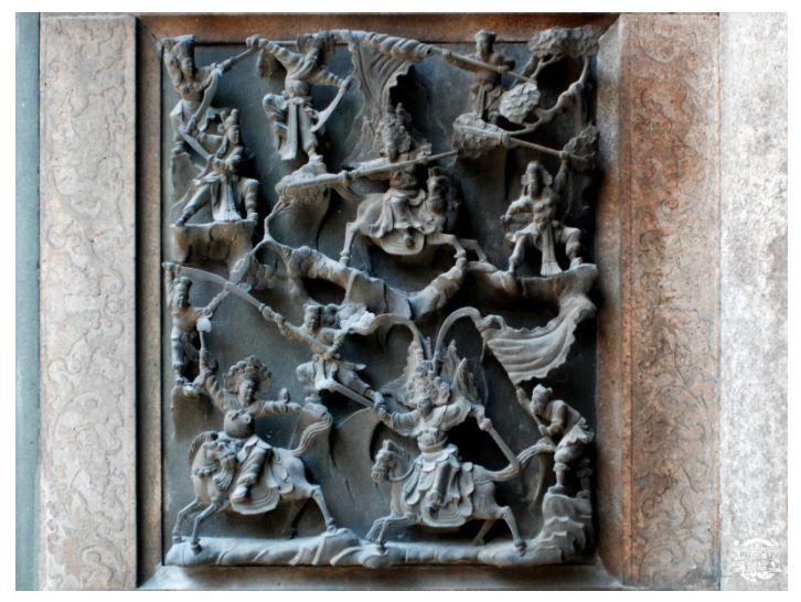 「金銀廳」黃家又遭盜墓!鹿港天后宮匠師「蔣馨」打造石雕整組被敲走