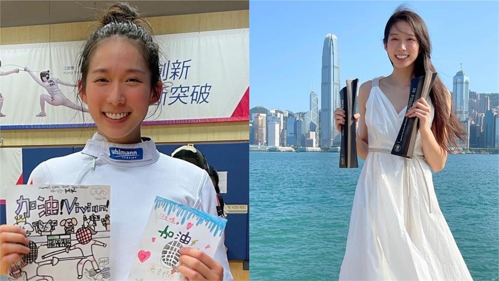東奧/志玲姐姐出賽東奧?香港擊劍正妹撞臉她 甜笑美照融化全網