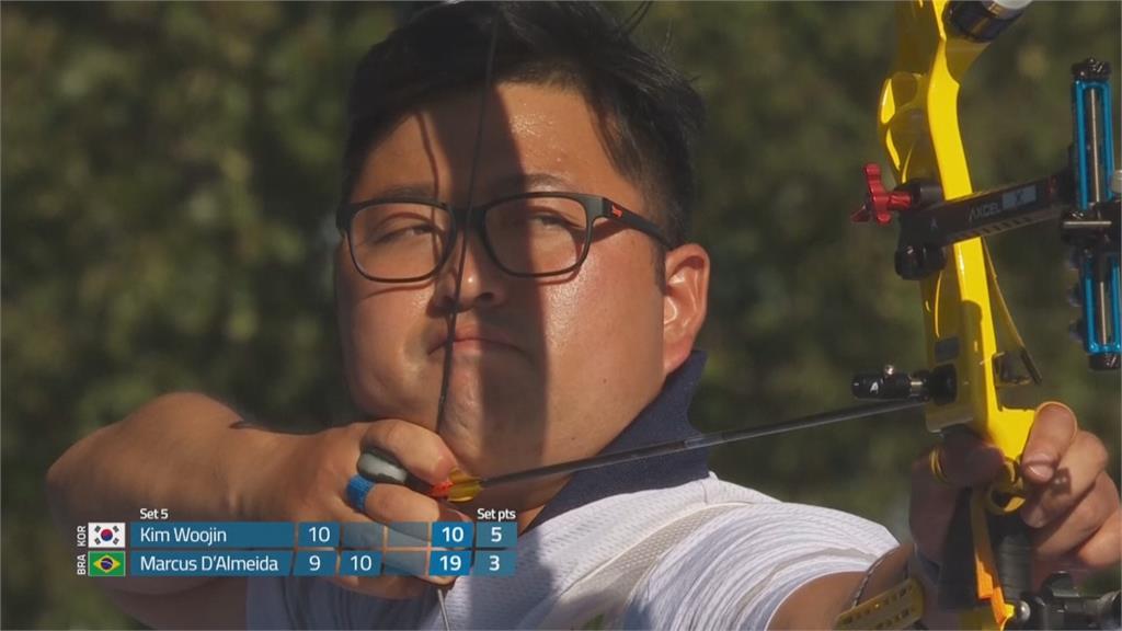 反曲男單、女單奪金 韓國射箭世錦賽「五金」全包