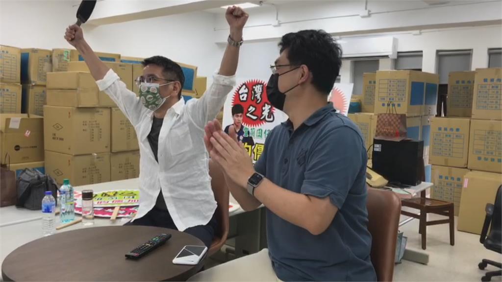 台灣桌球男團3:0晉級8強 莊智淵.陳建安.林昀儒好表現親友嗨翻