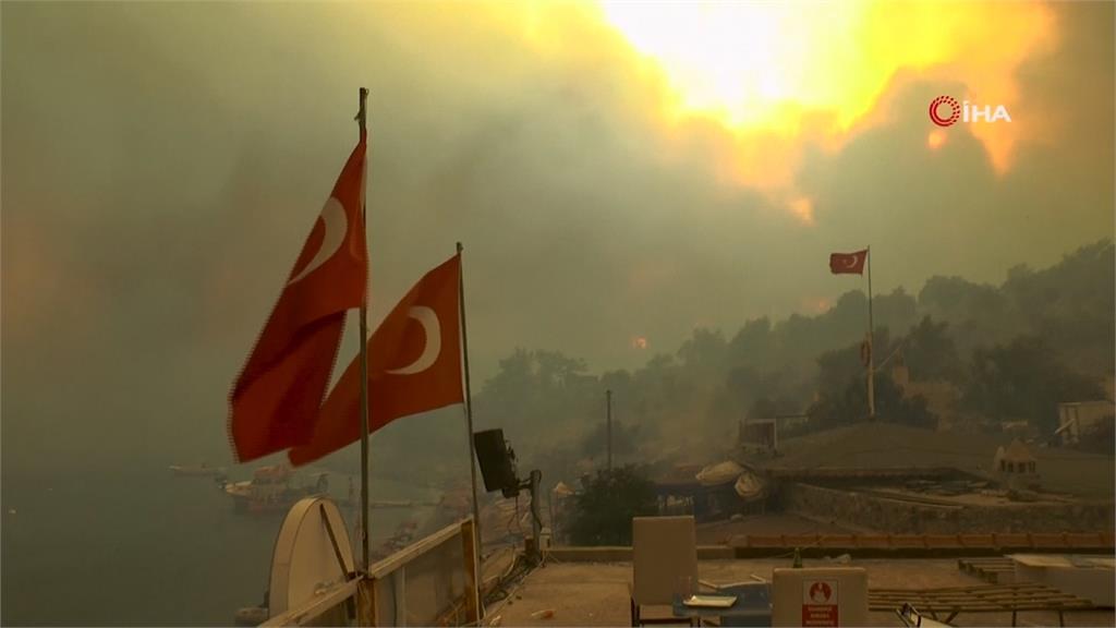 土耳其5天百場野火 火勢逼近飯店遊客急撤離
