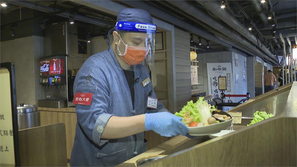 好久沒客人坐在店內吃了 雙北餐廳推內用防疫SOP