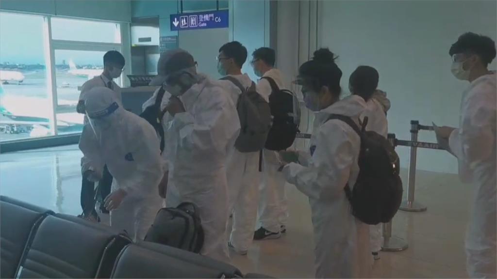 威剛科技疫苗團出發了!近百名員工開心飛關島