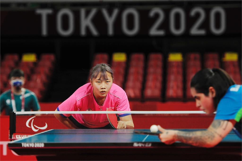 帕運/田曉雯桌球女單4強惜敗巴西!入袋銅牌無緣金牌戰